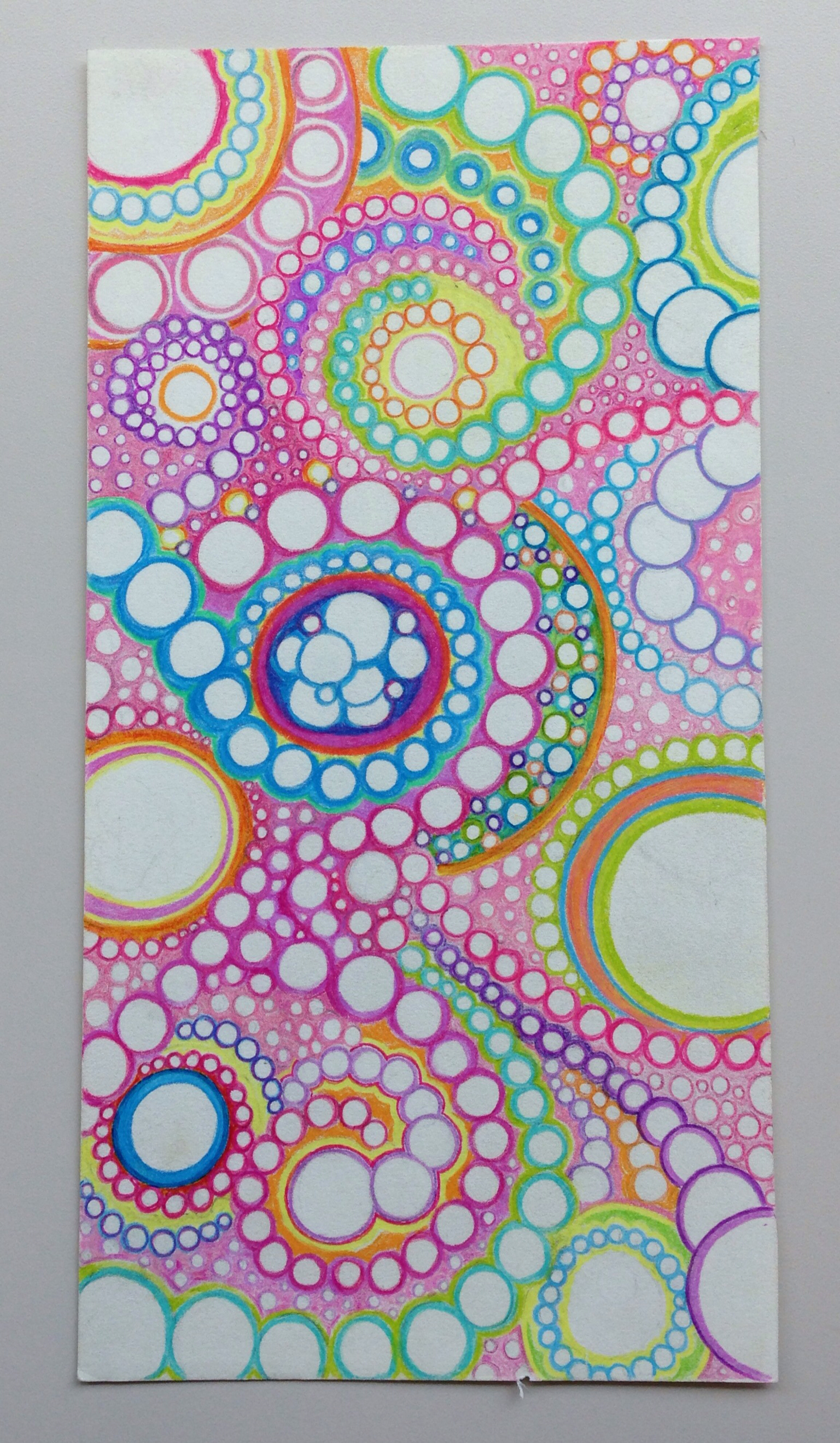 1536x2638 Abstract Circle Colored Pencil , Free Handed, Drawing My Doodles
