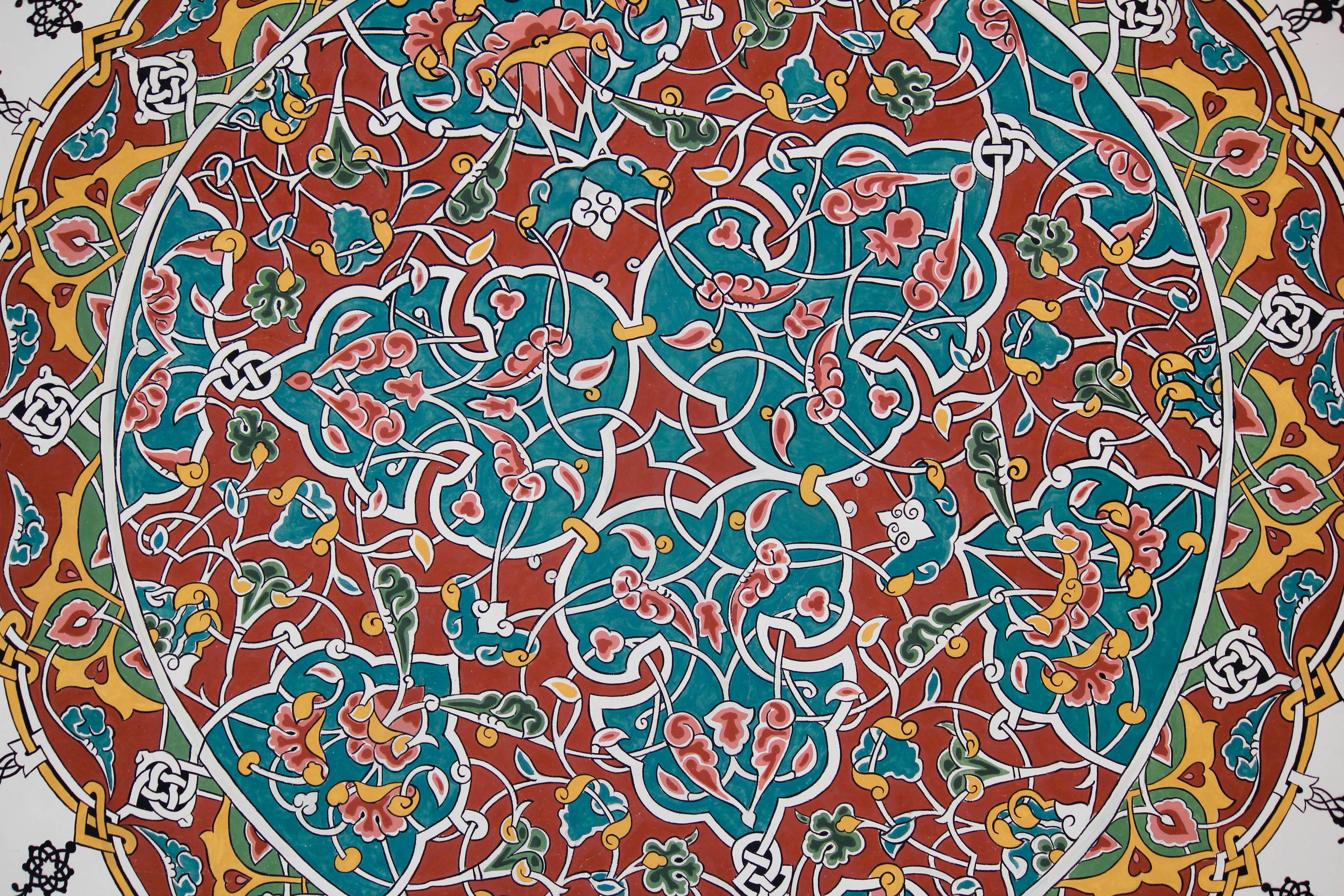 5184x3456 Free Images Pattern, Circle, Drawing, Design, Mosaic, Flooring
