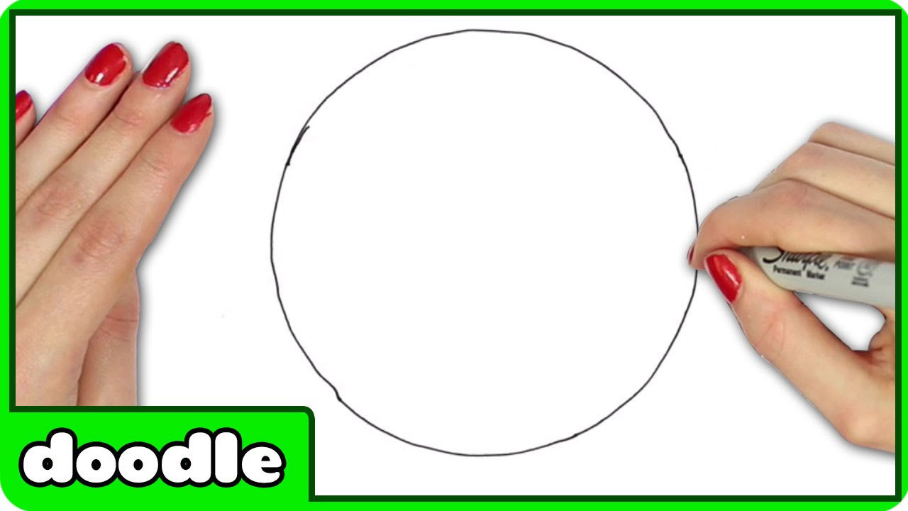 1280x720 How To Draw A Perfect Circle Freehand