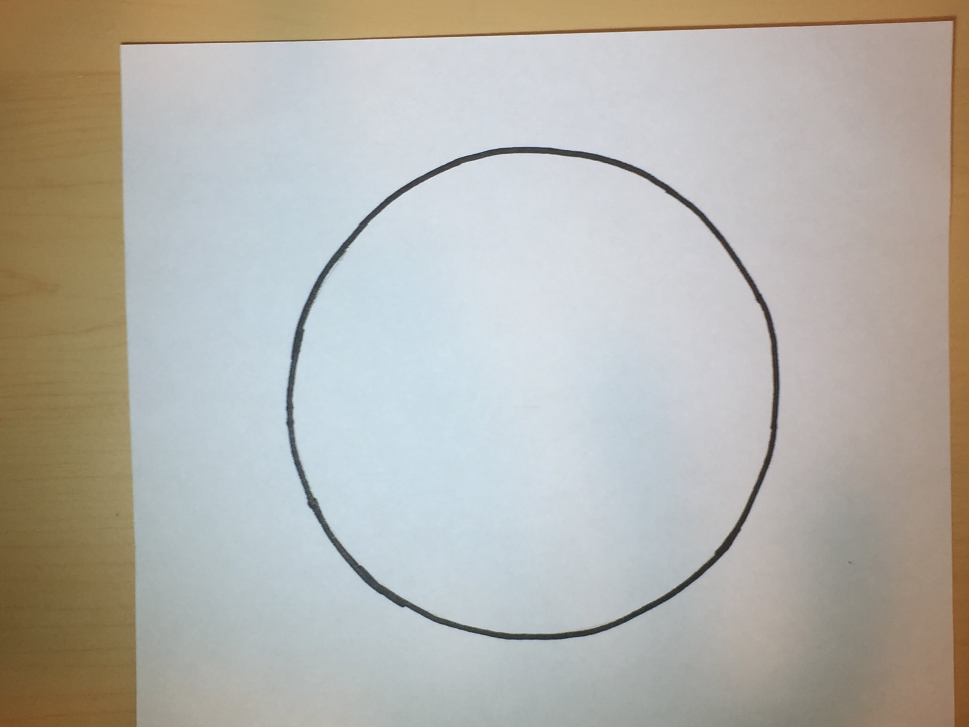 3264x2448 How To Draw A Perfect Freehand Circle Simple Drawing Tutorial