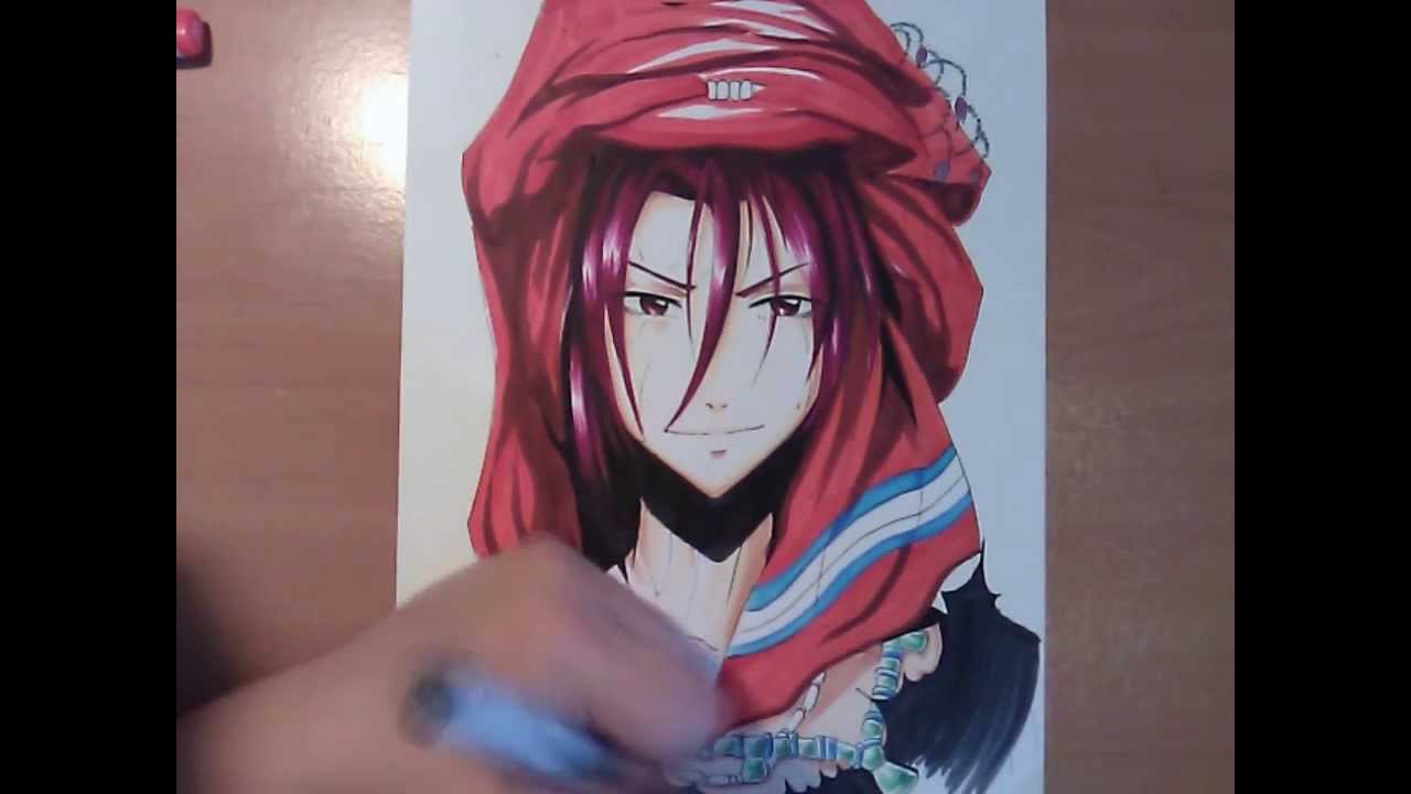 Free drawing anime at getdrawings free for personal use free 1280x720 copic manga drawing free rin voltagebd Gallery