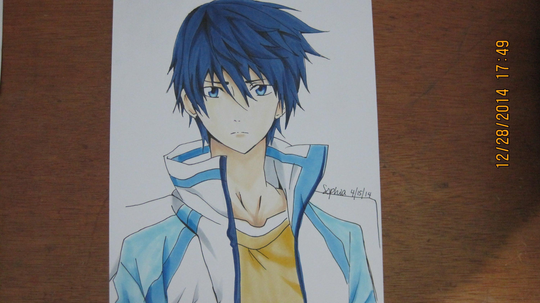 3000x1684 Free! Iwatobi Swim Club Drawing And Coloring Haruka Nanase