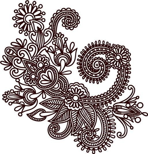 514x535 Hand Drawn Photoshop Patterns