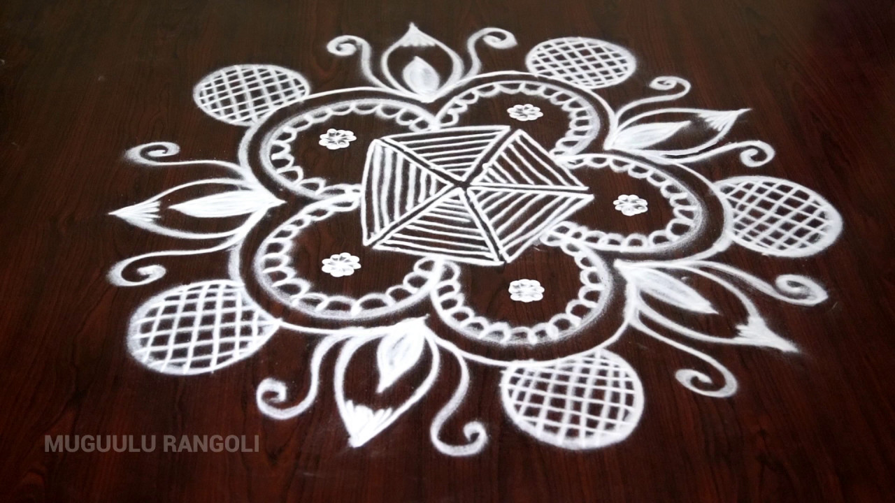 1280x720 Hand Free Rangoli Best Free Hand Rangoli Designs Free Hand Drawing