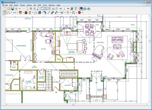 533x386 House Plans Program To Draw House Plans Free Mac Architecture Full