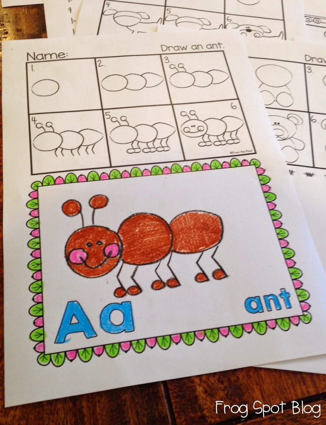 1103x1439 Alphabet Directed Drawing Free, Activities And Kindergarten