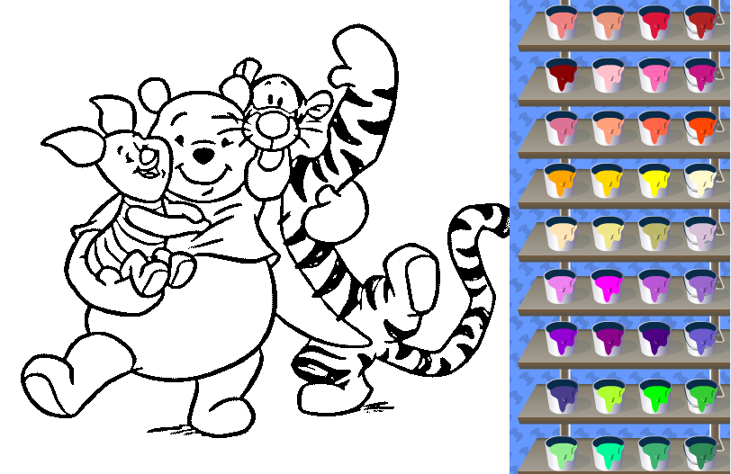Coloring Games For Kids