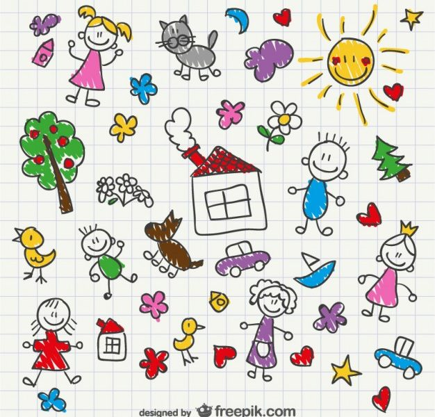 626x600 Kids Free Drawing Coloring Page Ideas