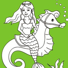 220x220 Mermaid Coloring Pages, Free Online Games, Drawing For Kids