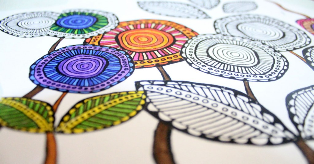1024x536 Colored Coloring Pages Free Printable Complex
