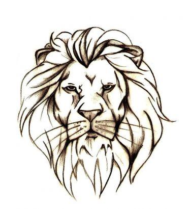 372x410 Lion Head Free Tattoo Design Tattoo From Itattooz