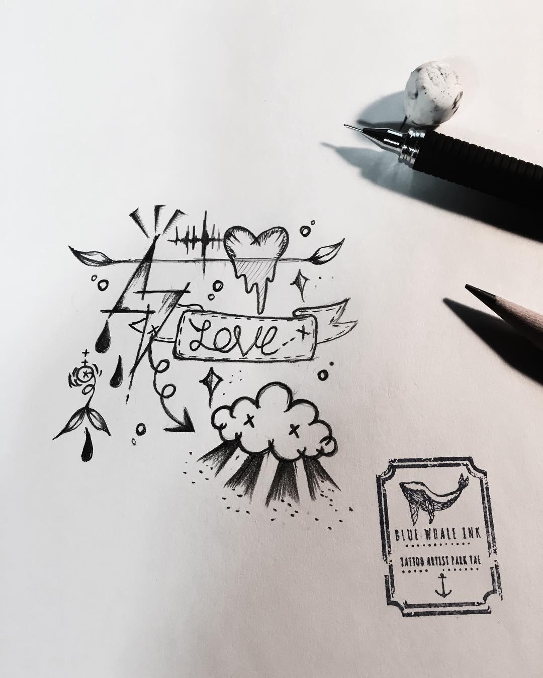 1080x1349 Today's Emotion Free Drawing Tattoo Design, Tattoo Idea