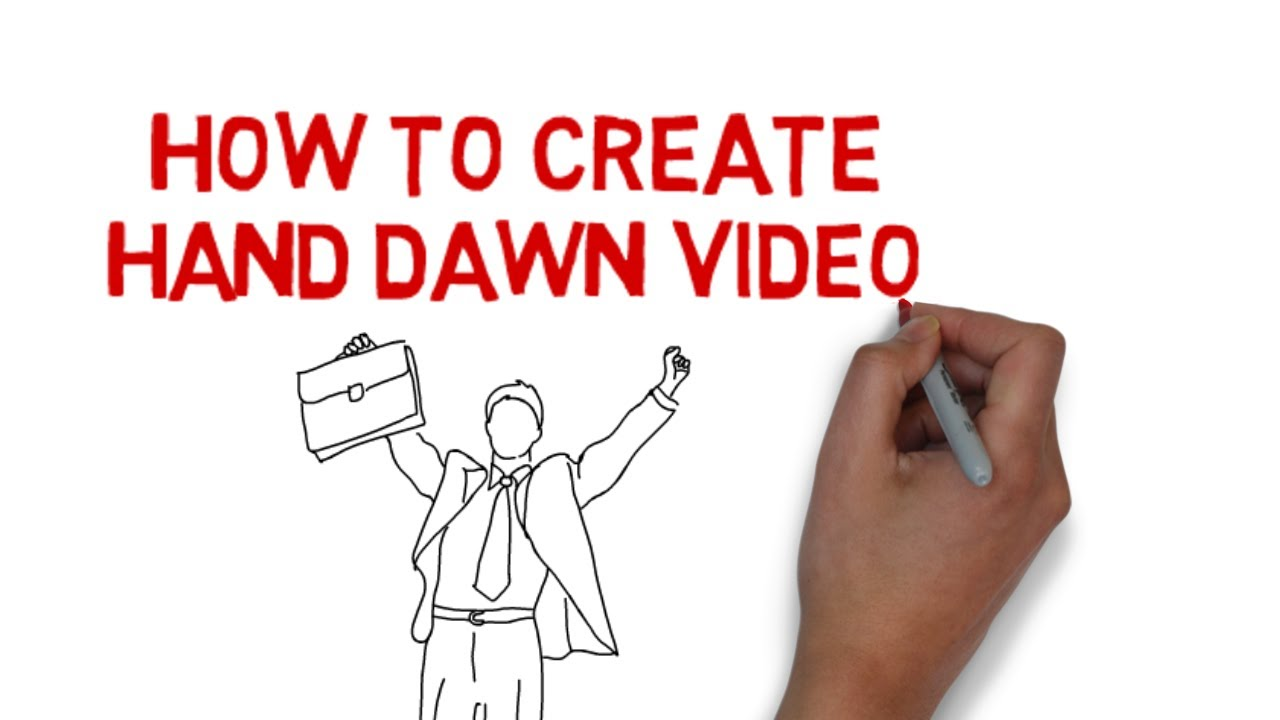 1280x720 How To Create Hand Drawn Videos (Whiteboard Videos)