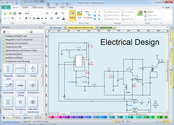Free electrical drawing at getdrawings free for personal use 600x433 design software cheapraybanclubmaster Choice Image