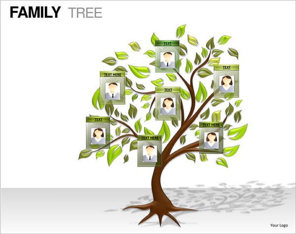 600x473 Powerpoint Tree Template 7 Powerpoint Family Tree Templates Free