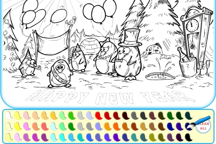 720x480 Coloring Games Free Online Colouring Pages Drawing