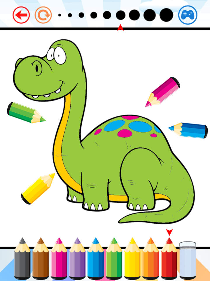 720x960 Dinosaur Dragon Coloring Book