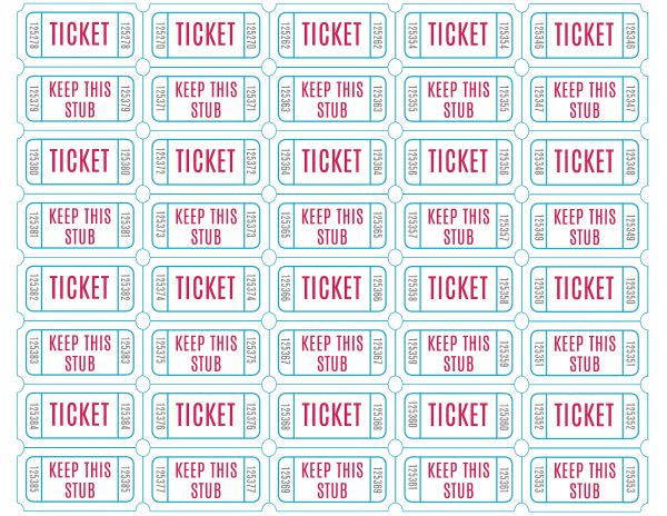 600x464 raffle tickets to print free printable raffle tickets