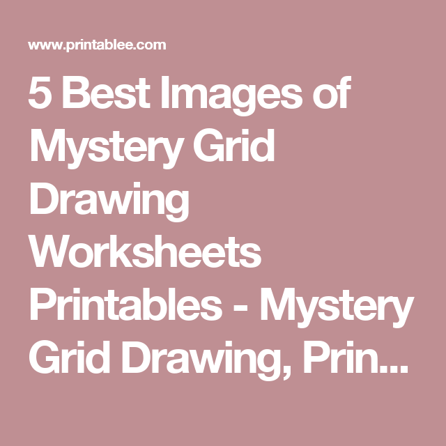 640x640 5 Best Images Of Mystery Grid Drawing Worksheets Printables