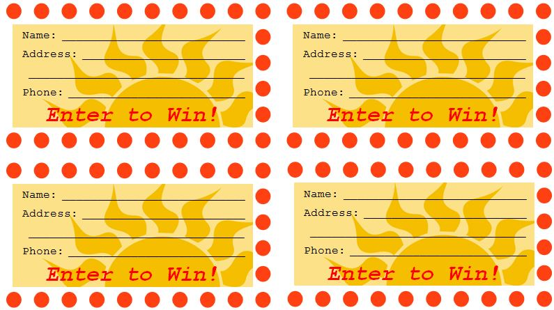 free raffle drawing template at getdrawings com free for personal