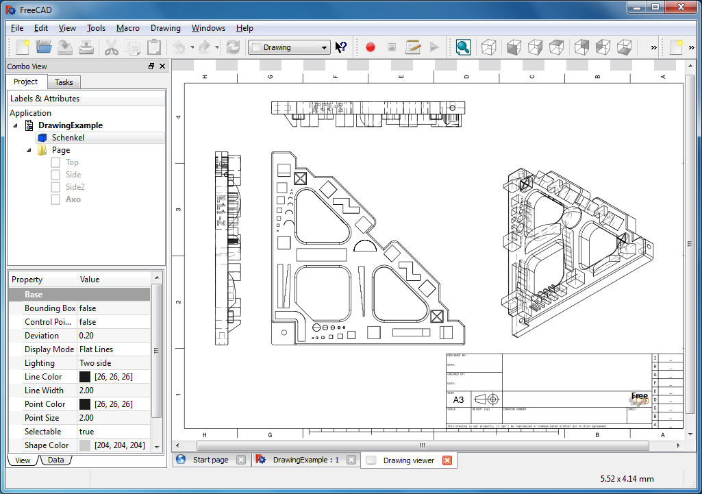 1025x721 Freecad 0.17.13509 Free Download