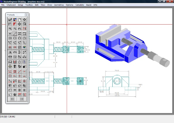 595x420 Vectorengineer Is A Complete Low Cost Technical Drawing And Multi