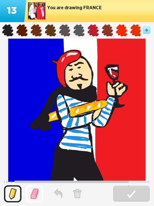 500x667 France Drawings