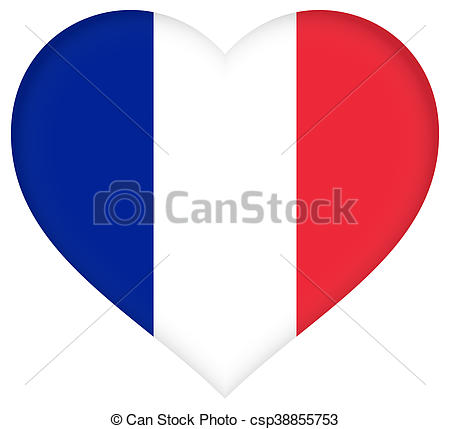 French Flag Drawing At Getdrawingscom Free For Personal Use