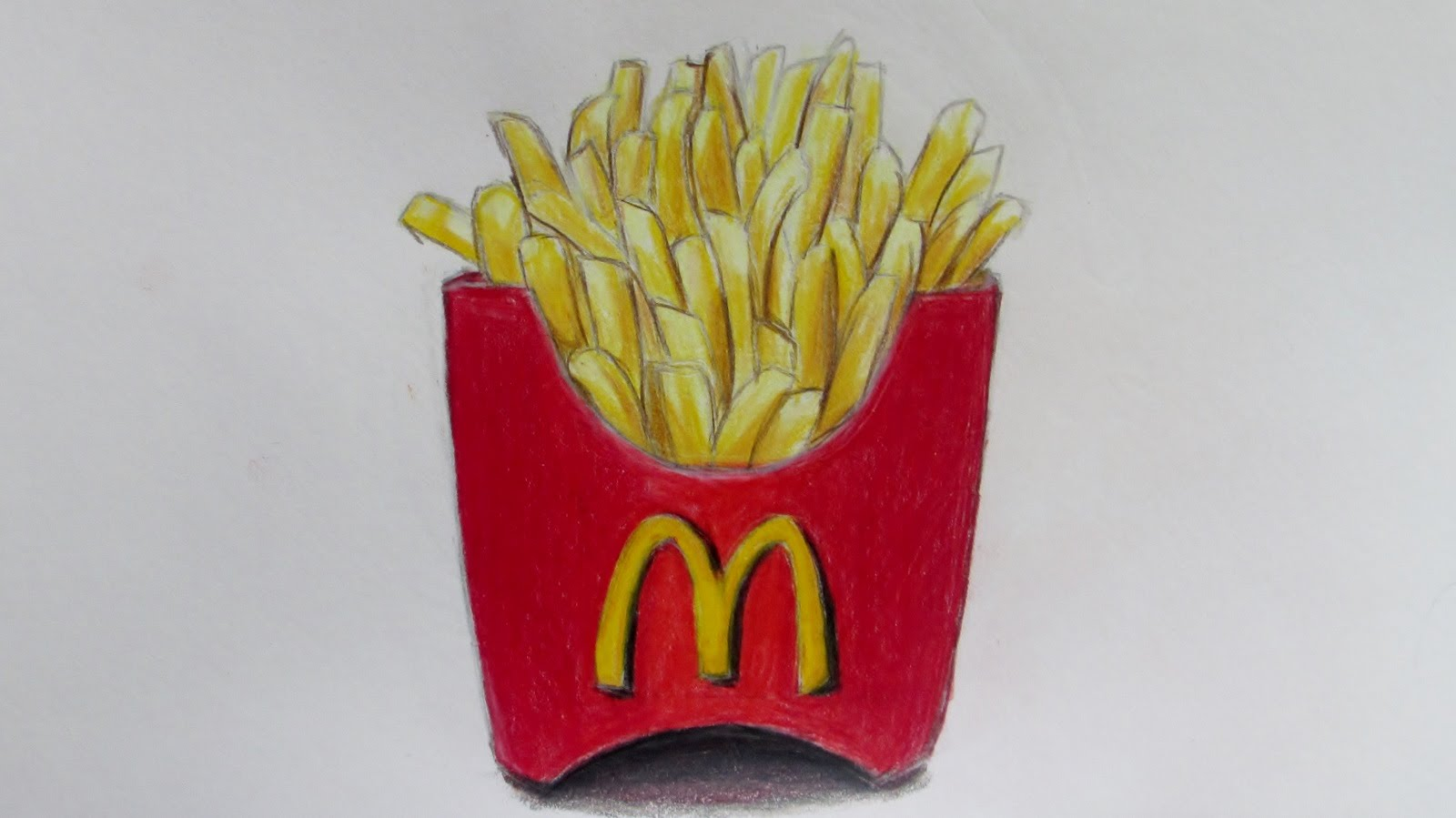 French Fries Drawing At Getdrawings Free Download