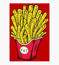 210x230 French Fries Drawing Photographic Prints Redbubble