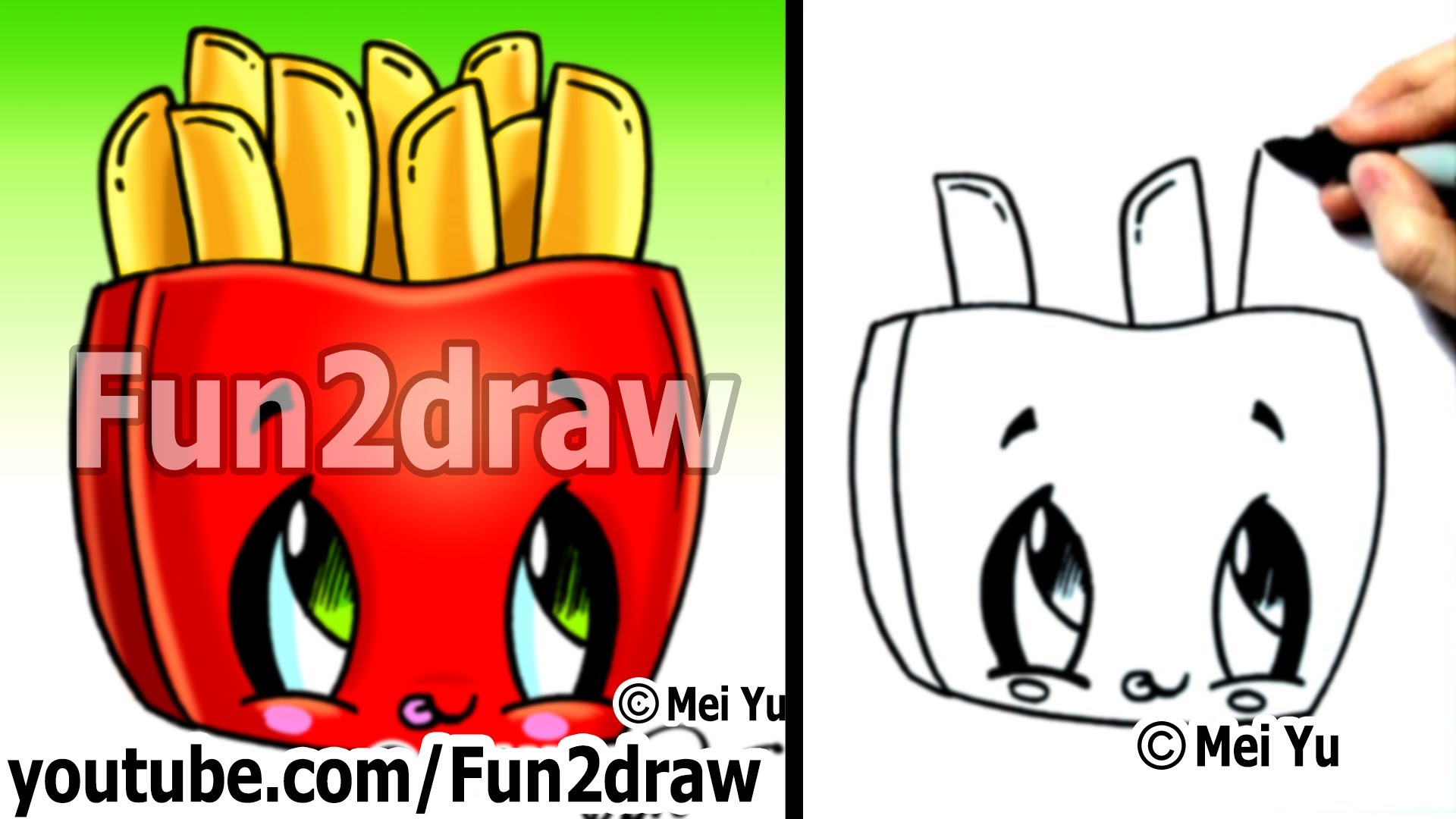 French Fry Drawing at GetDrawings.com   Free for personal use French ...
