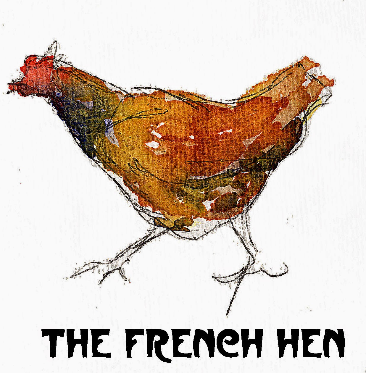 1237x1261 Suburban Sketches Exercise The French Hen