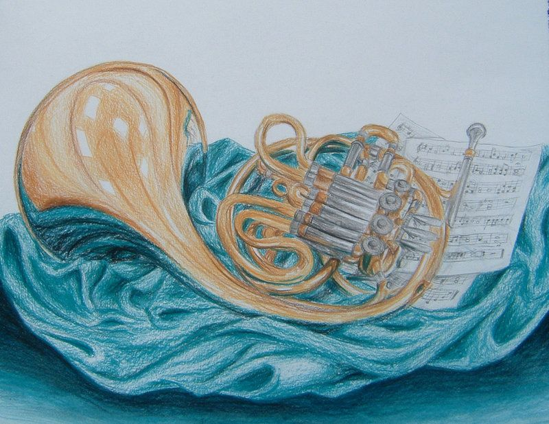 800x618 French Horn By Talentedtiger On French Horn