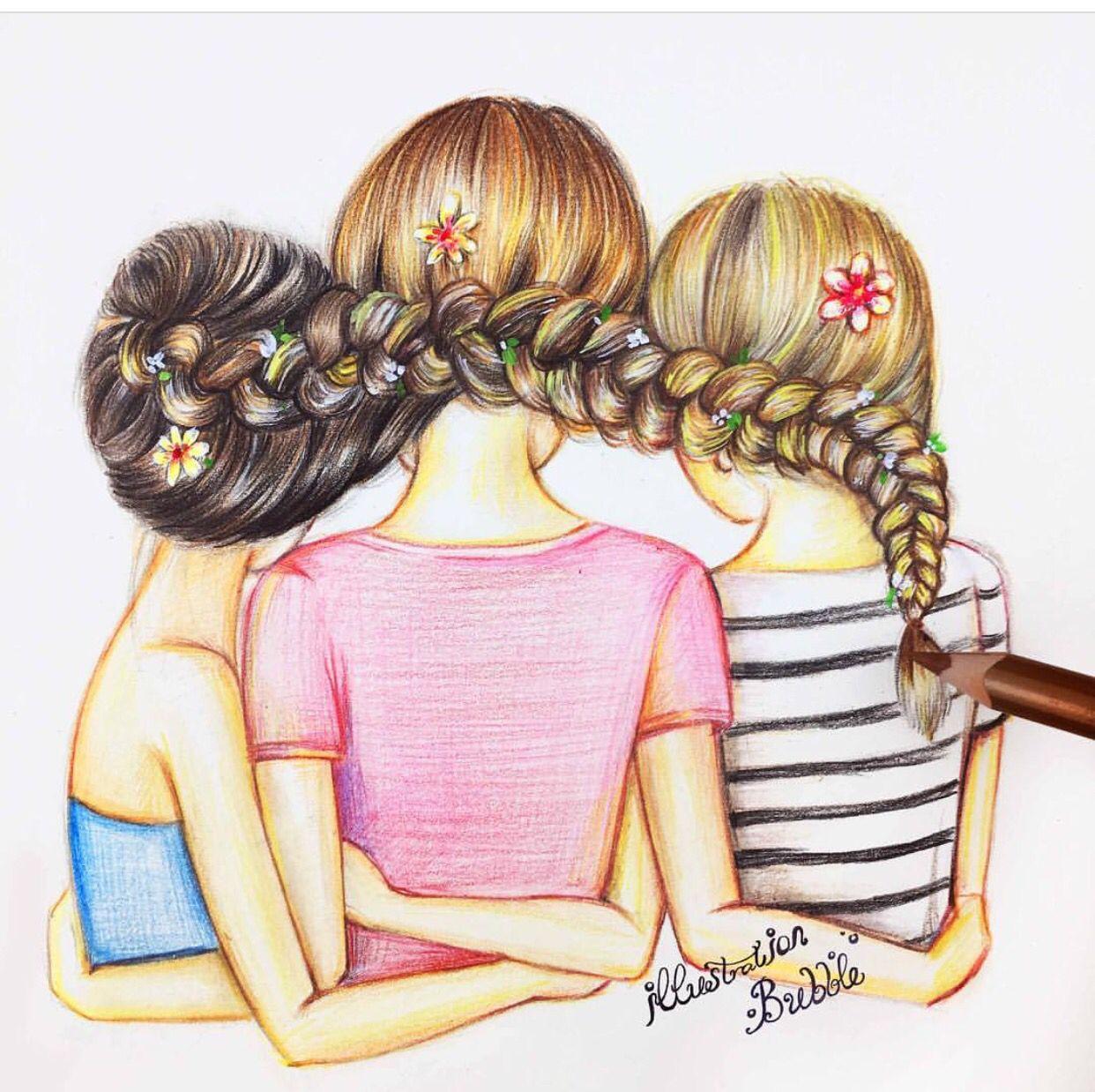 1242x1238 Best Friends (Nice Try Friends) Friends Bff