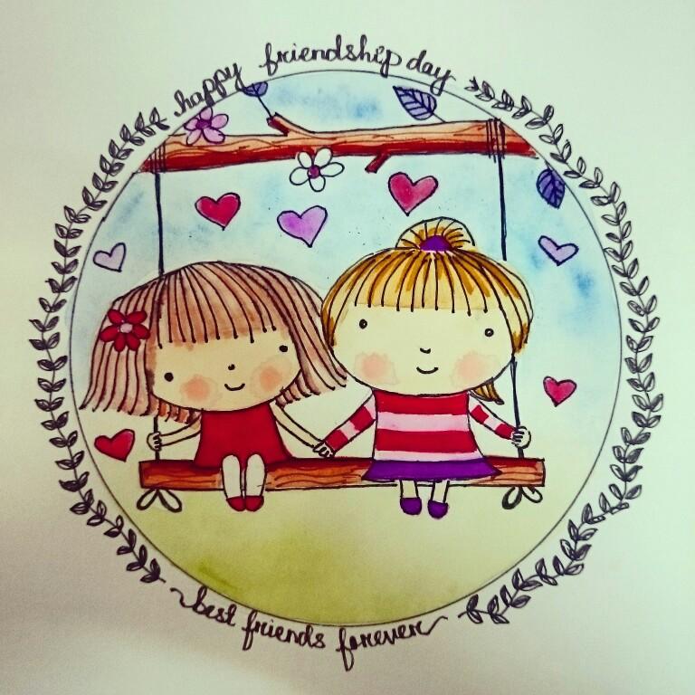 768x768 Happy Friendship Day, Bffs, Bestie, Friends For Life, Love