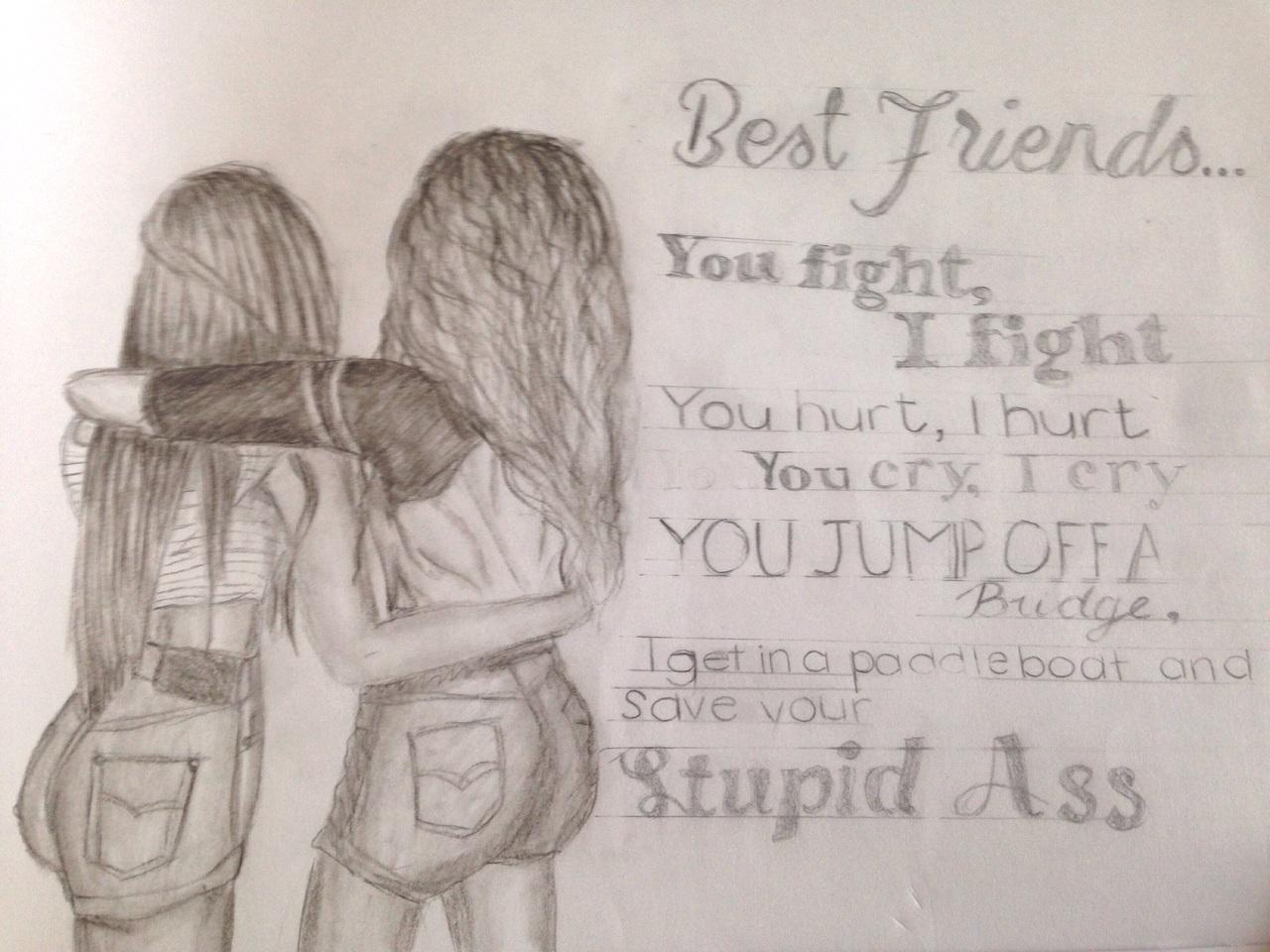 Friendship Drawing At GetDrawings.com