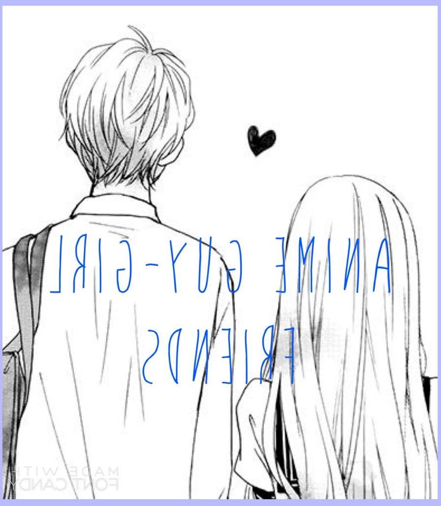 893x1024 Girl And Boy Friendship Drawing Boy Girl Friendship Anime