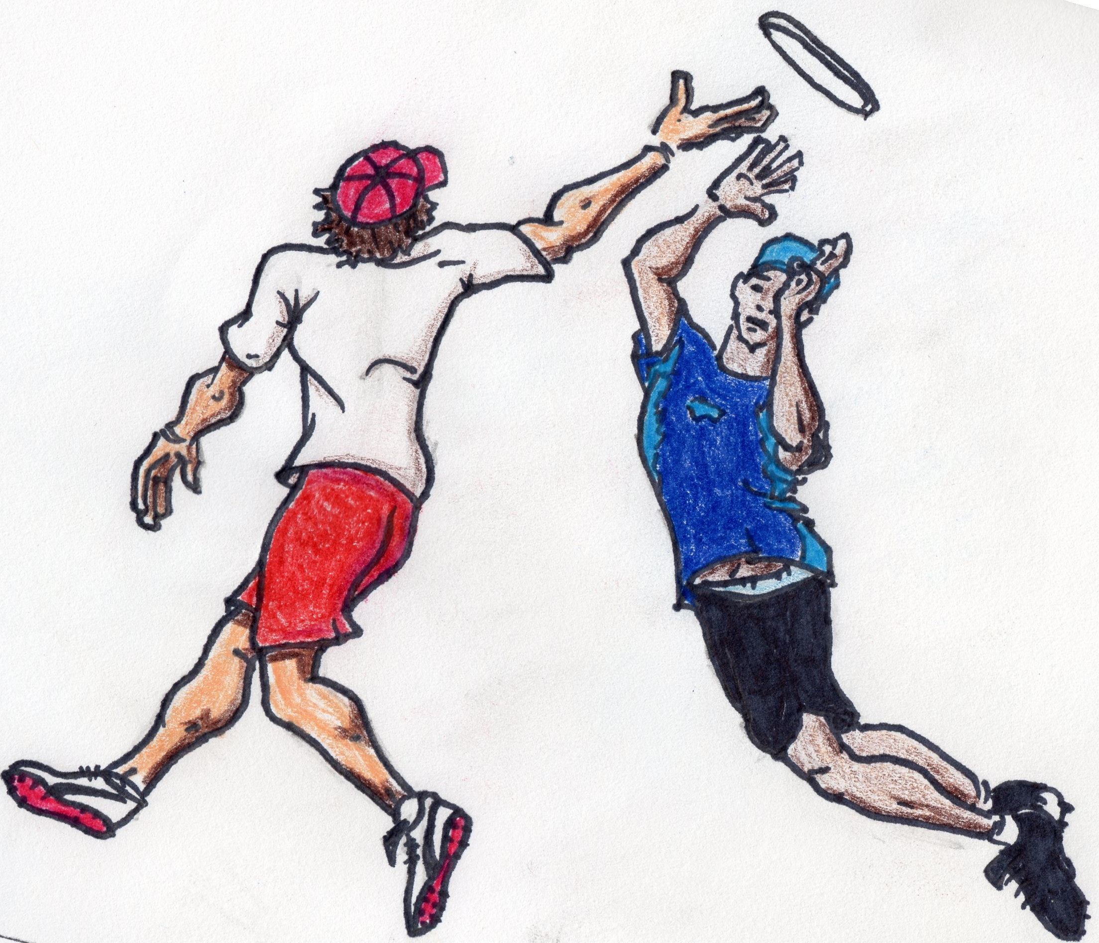 2208x1896 Ultimate Frisbee Throw Away Art A Day Keeps The Boring Away