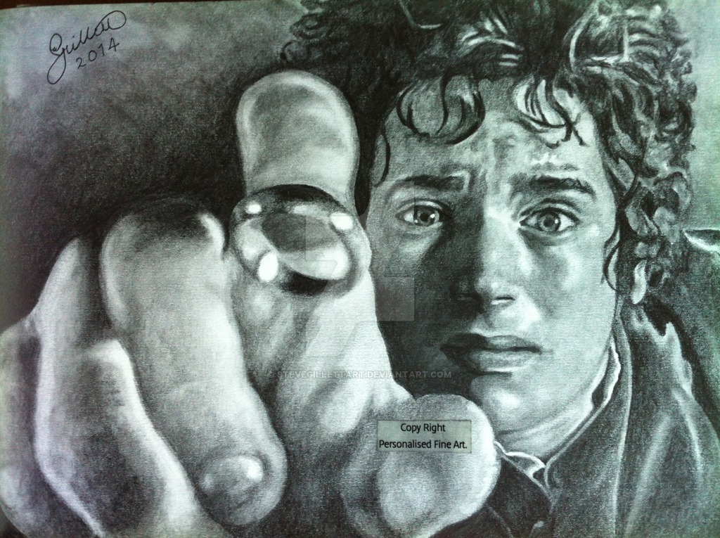 Frodo Drawing at GetDrawings.com   Free for personal use Frodo ...