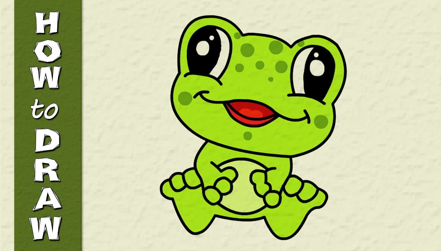 Frog Drawing For Kid at GetDrawings.com   Free for personal use Frog ...