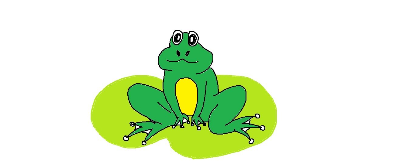 1359x540 Easy Kids Drawing Lessons How To Draw A Cartoon Frog For Kids