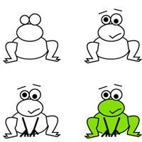 200x200 Kids Learn How To Draw A Frog Crafts Creativity. Basteln