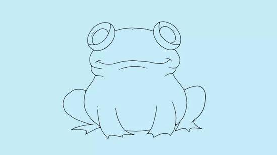 550x309 3 Ways To Draw A Frog Step By Step