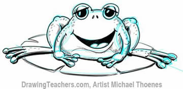 360x175 How To Draw A Cartoon Frog