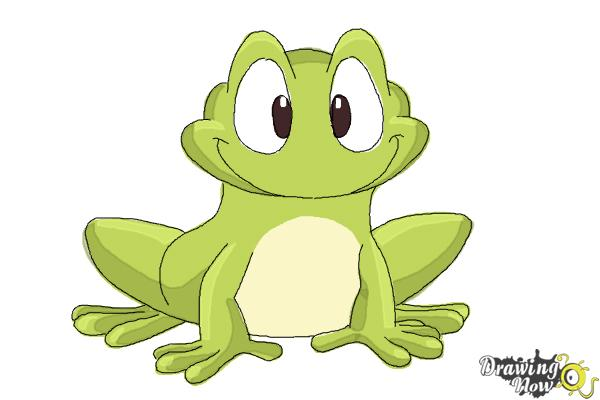 600x400 How To Draw A Frog Step By Step