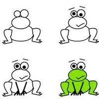 200x200 How To Draw A Frog Instruction Sheet (Sb8220)