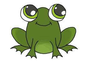 300x200 Pictures Frog Drawing Easy,