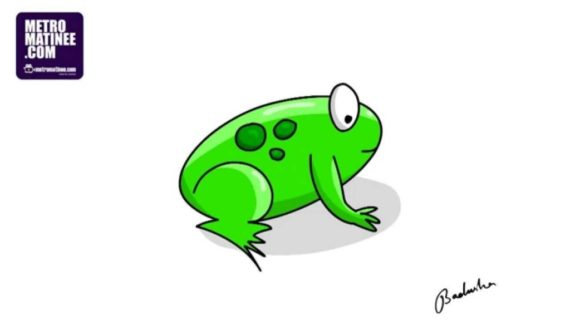 570x320 Simple Frog Drawing How To Draw A Frog For Kids Youtube