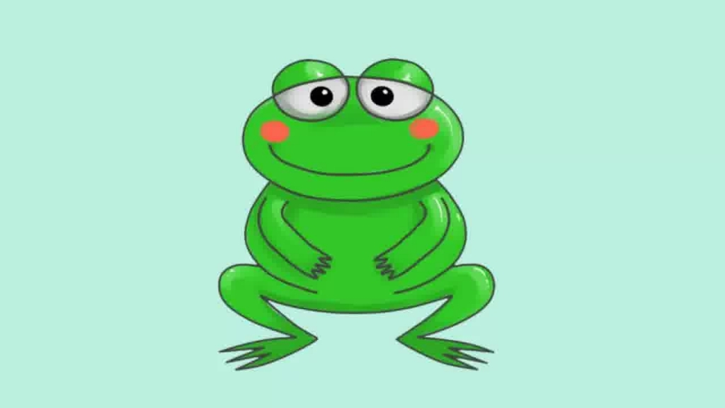 1024x576 How To Draw A Cartoon Frog Cartoon Frog Face Clipartsco