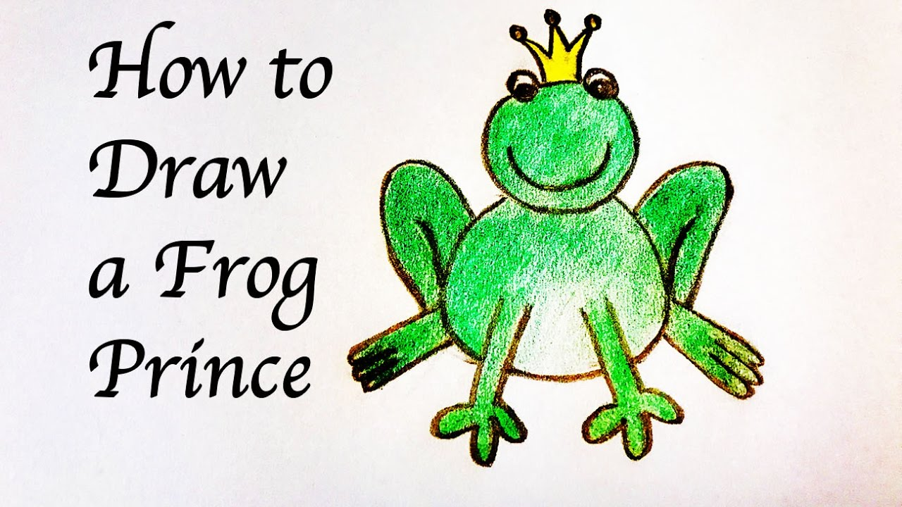 Frog Prince Drawing at GetDrawings.com | Free for personal use Frog ...